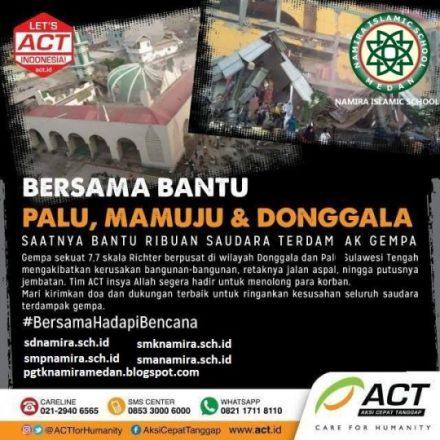 Prayer For Palu, Mamuju and Donggala