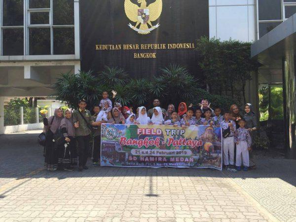 FIELD TRIP BANGKOK-PATTAYA STUDY TOUR PEMBELAJARAN SISWA/I SDS NAMIRA 2019