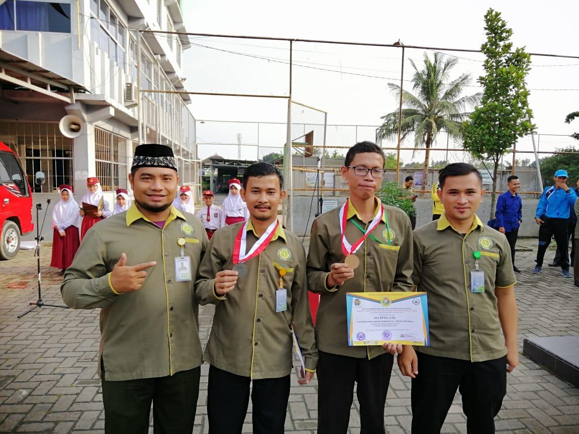 Alhamdulillah Ucapan Selamat Atas Prestasi Guru SDS Namira Dalam Perlombaan SCE (Science Competition Expo) 2019 Di USU Se- Sumatera Bagian Utara