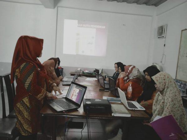 SOSIALISASI SERTA PEMBINAAN PENINGKATAN MUTU PENDIDIKAN (PMP) GURU SDS NAMIRA TAHUN 2019