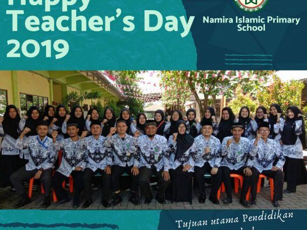 PERINGATAN HARI ULANG TAHUN PGRI KE-74 SEKOLAH NAMIRA TAHUN 2019