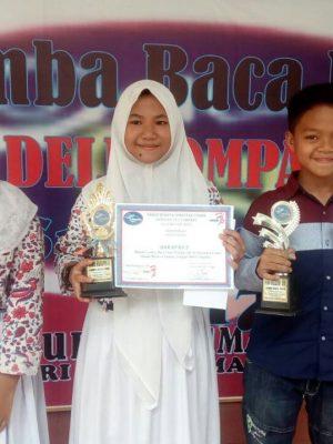 JUARA HARAPAN II PUISI TINGKAT PROVINSI TAHUN 2017