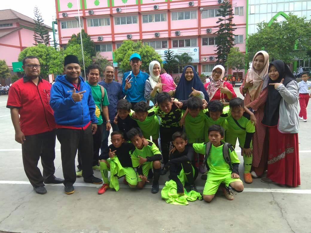 Alhamdulillah SDS Namira Meraih Juara Dalam O2SN dan OSN Tingkat Kecamatan Medan Selayang Tahun 2019