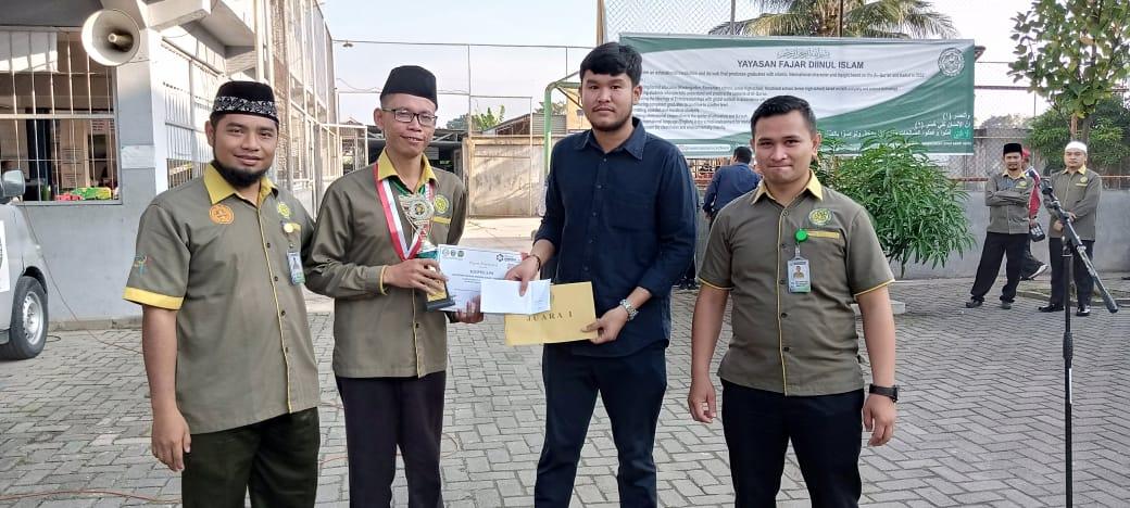 Alhamdulillah Guru SD Namira Sir Sucipto Telah Meraih Juara 1 Olimpiade Sains Plus 2020 Bidang IPA SD Provinsi Se-sumatera Bagian Utara-Aceh Di Auditorium USU Medan