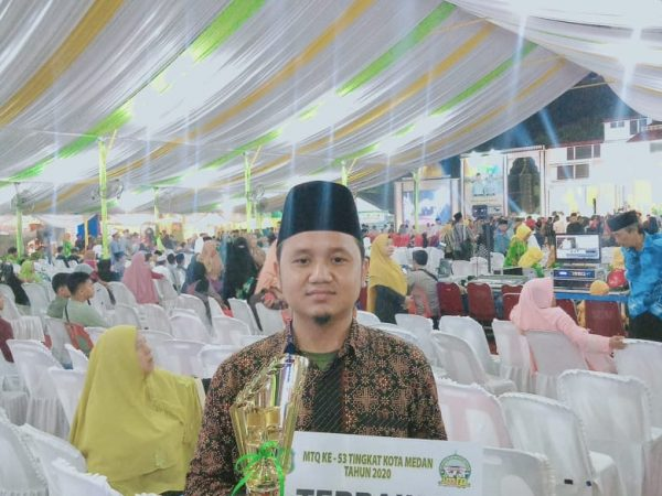 Alhamdulillah Sir Nazaruddin Meraih Juara 1 LKTIQ dalam Perlombaan MTQ Tingkat Kota Medan
