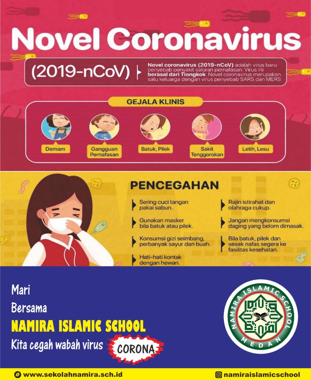 Pencegahan Dan Lockdown Dari Bahaya Virus COVID 19 serta Pembelajaran Dirumah (Study At Home And Safety Care)
